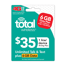 Verizon Coverage Map Wisconsin by Total Wireless 35 30 Day Plan Email Delivery Walmart Com