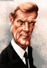 Roger Moore by Roger Moore Caricature Http Dunway Com Bond James Bond