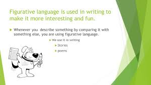 figurative figurative language what is figurative language and where do we