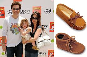 womens ugg moccasin boots jason bateman amanda anka s support moccasins