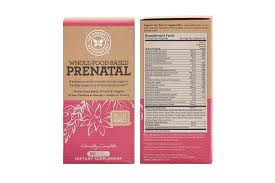 prenatal vitamins whole food based with premium ingredients