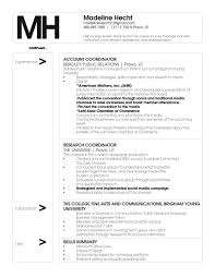 Resume Examples Byu by Download Pr Resume Haadyaooverbayresort Com