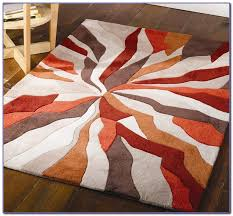 burnt orange and grey area rugs rugs home decorating ideas