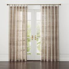 Open Those Curtains Wide Curtain Panels And Window Coverings Crate And Barrel