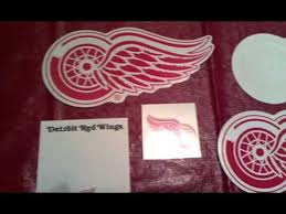 detroit red wings fan pack youtube