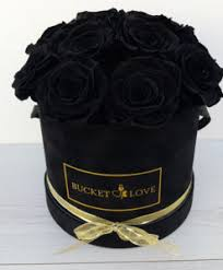 black roses delivery of send flowers in a box delivery to all big