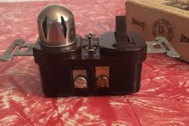 vintage switch and pilot light single pole leviton 10a 125vt from
