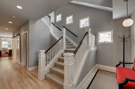 Glass Stair Banisters Stair Banister Ideas Staircase Traditional With Landing Chrome
