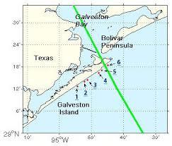 galveston island map pre and post photo comparisons galveston tx hurricane