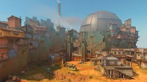 Mad Max Map Overwatch Junkertown Map Preview Features U201cqueen U201d The Leader