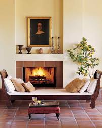 Tiled Fireplace Wall by Beautiful Fireplace Design Ideas