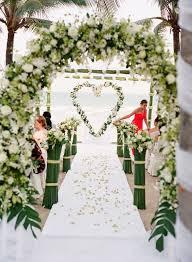 d coration mariage 10 somptueuses décorations pour une cérémonie en extérieur