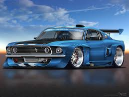 ricer muscle car eleanor who by dangeruss on deviantart