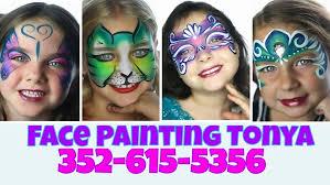 Light Up Ocala Light Up Ocala Face Painting Tonya At Citizens Circle Ocala Fl