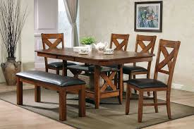 wood dining room set mcferran home furnishings collections dining room collections