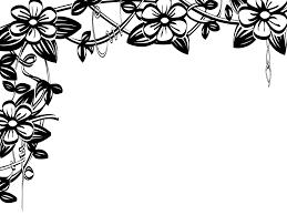 flower border flowers borders clip art clip art image