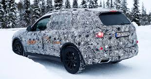 2018 bmw x7 spied again photos 1 of 13