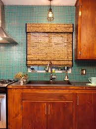 Glass Tiles Kitchen Backsplash by Kitchen Love This Glass Tile Backsplash Could Paint Watercolor