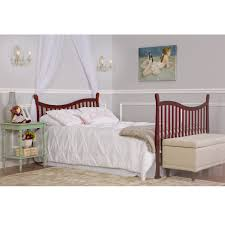 Convertible Crib Full Size Bed by Why The Dream On Me Violet 7 In 1 Convertible Life Style Crib Is