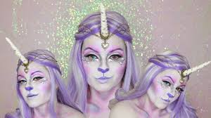 Unicorn Halloween Makeup by Unicorn Makeup Tutorial Maquiagem De Unicornio Halloween Makeup