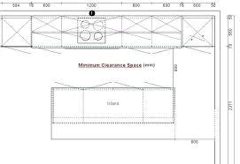 kitchen island spacing kitchen island spacing kitchen island design size measurements