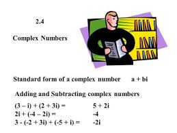 complex numbers solve the following 1 2x 2 u003d 8 2 x u003d ppt download