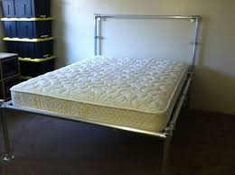 Aluminum Bed Frame Diy Bed Frame Pipe Bed Bed Frames And Pipes