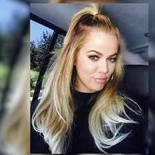 khloé kardashian debuts short lob fyi khloe kardashian is super blonde now rouge 18