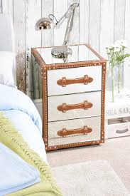 mirrored trunk nightstand the guideline to build rustic trunk