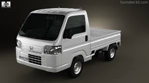 honda acty 360 view of honda acty vamos truck 2012 3d model hum3d store
