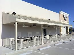 Metal Canopies And Awnings Awnings And Canopies Houston Texas