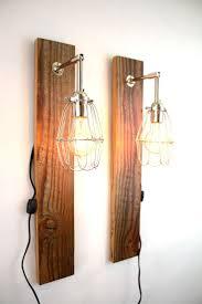 wood wall sconce light u2022 wall sconces