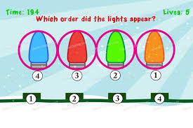 impossible test which order did the lights appear