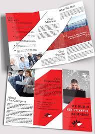 brochure psd template 3 fold 65 print ready brochure templates free psd indesign ai