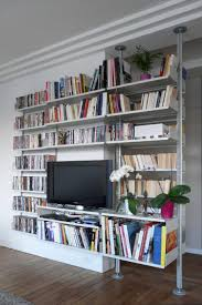 luxury wall mounted library shelving 28 on shabby chic wall