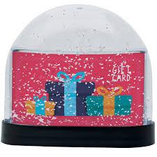 gift card snow globe neil enterprises wholesale snow globes gift card snow globe