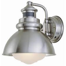 Motion Light Outdoor Hton Bay 1 Light Outdoor Wall Lantern With Motion Sensor