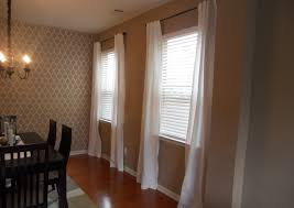 inspiring dining room curtains patterned or plain ruchi designs