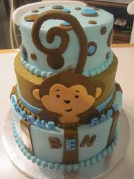 monkey baby shower cake cake dulce