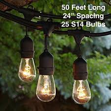 Hanging Patio Lights String Outdoor Patio String Lights Heavy Duty Hanging