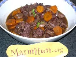 cuisiner boeuf bourguignon photo 2 de recette boeuf bourguignon rapide marmiton