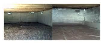 crawl space encapsulation value dry waterproofing