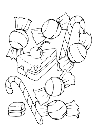 cute candy coloring pages coloring book cotton candy coloring