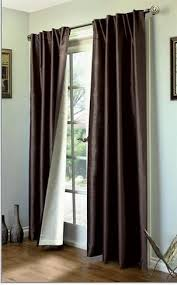 Thermal Back Curtains Insulated Tab Top Curtains Thermal Tab Top And Back Tab Window