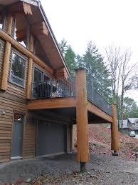 post and beam home on vancouver island artisan custom log homes