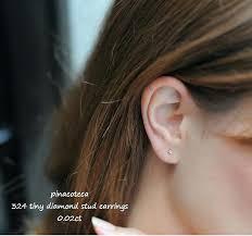 small diamond stud earrings tiny diamond stud earrings small diamond earring studs bat wall