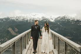 mountain wedding intimate wedding in the canadian mountains candice may