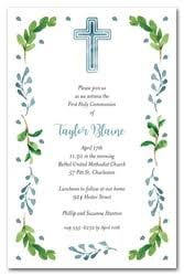 communion invitations for boys communion invitations holy communion invitations