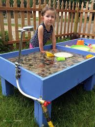 diy sand water table the haas machine pinteres