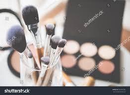 makeup artist tools professional makeup brushes tools stock photo 529397326